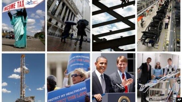 바락 오바마 미국 대통령은 이번 선거를 치르면서 부유츰 세금 인상과 금융 관련법 개혁 외에도 보건과 에너지 등에서도 경제적 파급효과가 큰 공약들을 제시했다. 오바마 2기 정부에서 미국 경제에 어떤 영향을 미칠지 주목된다.