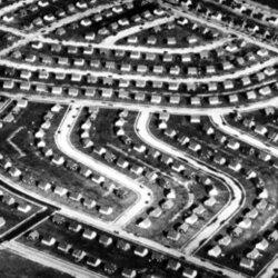 Part of Levittown in 1948
