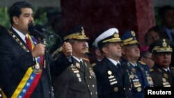 """Nicolás Maduro defendió la necesidad de """"un poder militar cada vez más grande""""."""