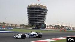 مسابقه اتومبیلرانی فرمول یک در بحرین