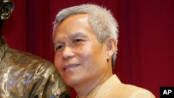 FILE - Sombath Somphone of Laos went missing in Vientiane, Laos, on December 15, 2012. Some rights groups believe he annoyed someone powerful within the government,