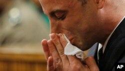 Oscar Pistorius lors d'une audience à la cour de justice de Pretoria, Afrique du sud, le 14 juin 2016.