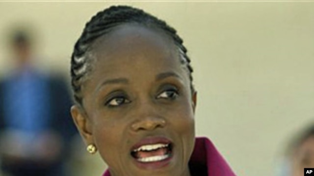 US Assistant Secretary of State Esther Brimmer  (file photo)