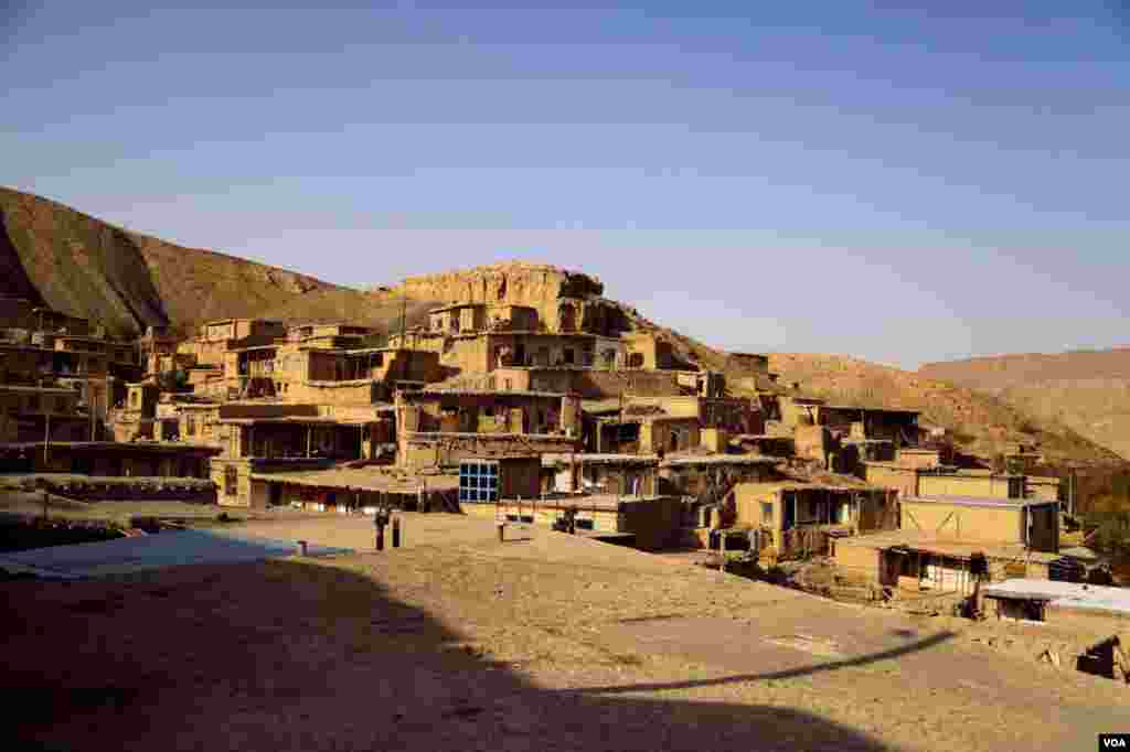 روستای حمام قلعه از توابع شهرستان کلات نزدیک مشهد عکس: مهرنوش (ارسالی شما)