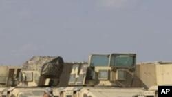 بغداد میں امریکی فوج کا ہیڈ کوارٹرز عراق کے حوالے