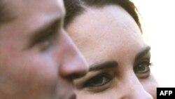 Hoàng tử Anh William và cô Kate Middleton
