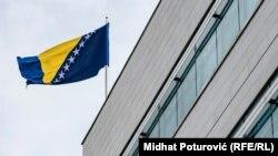 Bosnia-Herzegovina - Parliamentary Assembly of Bosnia and Herzegovina building (state Parliament), Sarajevo, 20Nov2019