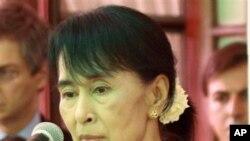 昂山素姬(資料圖片)