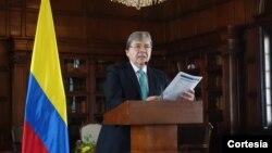 El canciller Carlos Holmes Trujillo dijo que es urgente una mayor movilización de la cooperación internacional, pues la migración continuará aumentando.