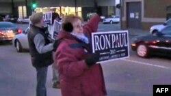 Pristalica republikanskog pretendenta Rona Pola u Ajovi