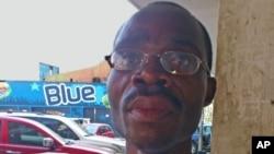 António Kileba, porta-voz do Sindicato de Enfermeiros de Angola