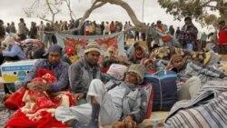 افزایش کمک به خارجیان آواره از لیبی
