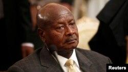 Yoweri Museveni, le président Ougandais