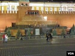 莫斯科红场列宁墓(美国之音白桦拍摄)