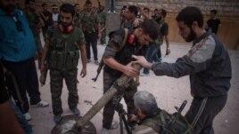 Abagwanya Ubutegetsi bwa Reta ya Syria