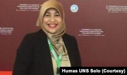Pakar Hukum dari Pusat Studi Demokrasi dan Ketahanan Nasional Universitas Sebelas Maret UNS Solo, Doktor Sunny Ummul Firdaus. (Foto: Courtesy/Humas UNS Solo)