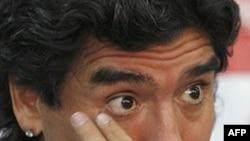 Ngôi sao bóng đá Argentina Maradona