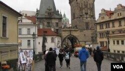 布拉格老城。