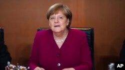 Kanselir Jerman Angela Merkel di Berlin, 22 Mei 2019. (Foto: dok).