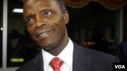 Farfasa Yemi Osinbajo, mataimakin shugaban kasar Najeriya da zai jagoranci taron