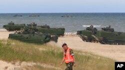 Vojne vežbe NATO-a u Baltičkom moru, 17. juni, 2015.