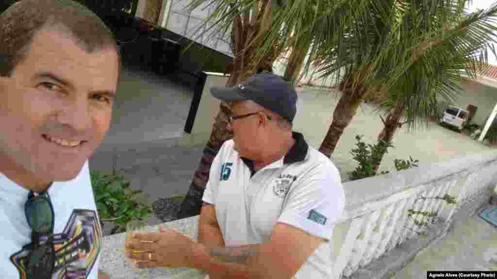 """A partir do Brasil o Agnelo Alves disse-nos que o """"Final de semana foi Ótimo,"""" (Jupi-Pernambuco), Junho 15, 2015"""