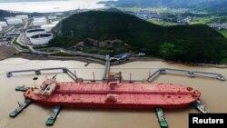 یک نفتکش در چین - عکس از آرشیو