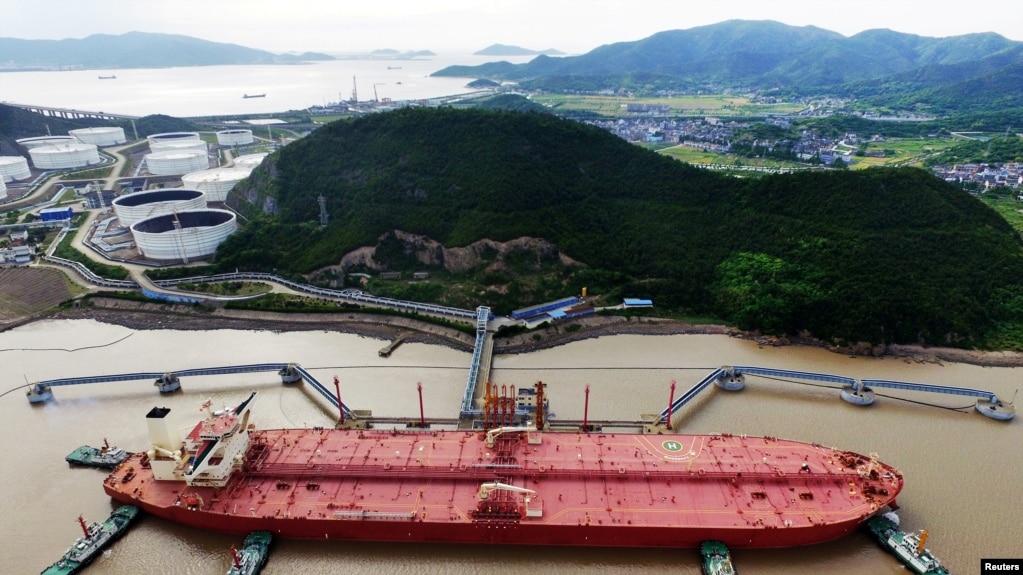 中國不顧美國禁令繼續進口伊朗原油