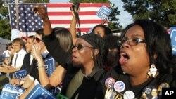 Des efforts sont déployés pour encouragés les Noirs à voter