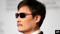 Chen Guangcheng mengukuhkan berita adanya tekanan politik terhadap Universitas New York untuk mengeluarkannya sebelum akhir bulan ini (Foto: dok).