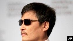 Slepi kineski aktivista Čen Guančeng