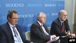 Учасники дискусії в Інституті Брукінґса