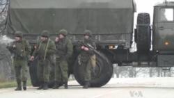 Armed Men Seize Airports in Ukraine's Crimea