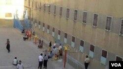 نمایی از داخل زندان گوهردشت کرج.