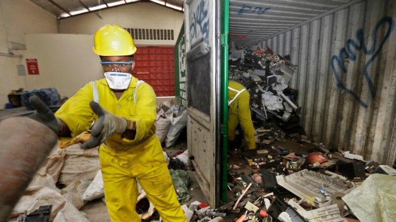 Електронскиот отпад штетен за здравјето и за економијата
