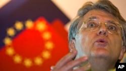 中国欧盟商会主席伍德克(Joerg Wuttke)