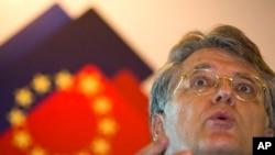 Joerg Wuttke, Ketua Kamar Dagang Eropa di China (foto: dok).