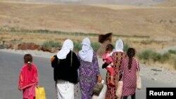 عراقي چارواکي وايي داعشیانو زرګونه ایزدۍ میرمنې تښتولي او جنسي تیري یې پرې کړي دي