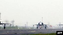 Hai chiếc F-16, hai chiếc Mirage 2000-5 và hai chiến đấu cơ do Đài Loan chế tạo đã đáp xuống Xa lộ Ma Đậu ở huyện Đài Nam