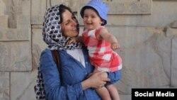 نازنین زاغری شهروند بریتانیایی ایرانی که در سفر به ایران بازداشت شد.