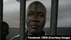 Jean Gervais Tchéidé, vice-président de la plateforme Ensemble pour la démocratie et la souveraineté (EDS) interpellé à Abidjan le 22 mars 2018
