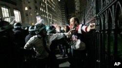 Απομακρύνθηκαν οι σκηνές διαδηλωτών από πάρκο της Νέας Υόρκης