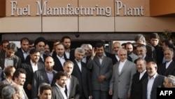 Otvaranje postrojenja za proizvodnju nuklearnog goriva u Isfahanu 9. aprila 2009.