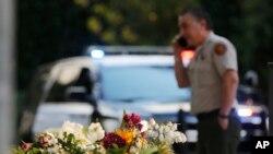 Mesto masovne pucnjave u mestu Tauzend Ouks u Kaliforniji.