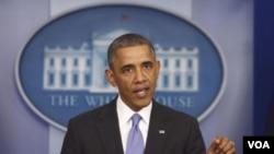 Presiden Amerika Barack Obama di Gedung Putih (Foto: dok).
