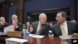 2月10日美国国家情报总监克拉珀向众议院情报委员会说明情况