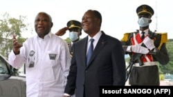 Rencontre Gbagbo-Ouattara: les prisonniers politiques au menu des échanges