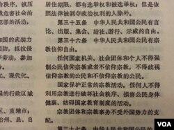 中华人民共和国宪法,第二章第三十五条:中华人民共和国公民有言论、出版、集会、结社、游行、示威的自由。