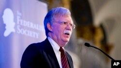 အေမရိကန္ျပည္ေထာင္စု အမ်ိဳးသား လံုၿခံဳေရးအႀကံေပး John Bolton