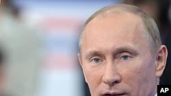 俄罗斯总统普京12月15号在莫斯科电视节目上